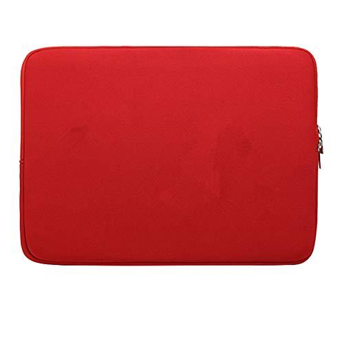 """Funda Protectora Antigolpes Ultra Fino para 14"""" Ordenadores Portátiles Bolso de la Cubierta Caja de Tableta,Rojo 1"""