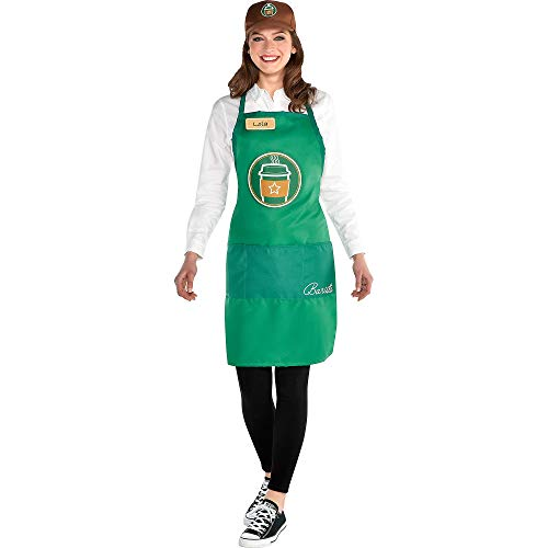 Adult Barista Kit Costume, Multicolor, One Size