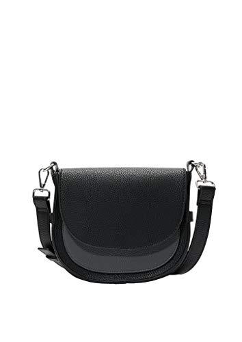 s.Oliver (Bags 39.910.94.2066 - Borsa a tracolla, da donna, 6 x 14 x 21 cm, colore: Nero