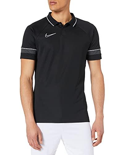 Nike Dri-FIT Academy Chemise Polo Homme, Nero/Bianco/Antracite/Bianco, XL
