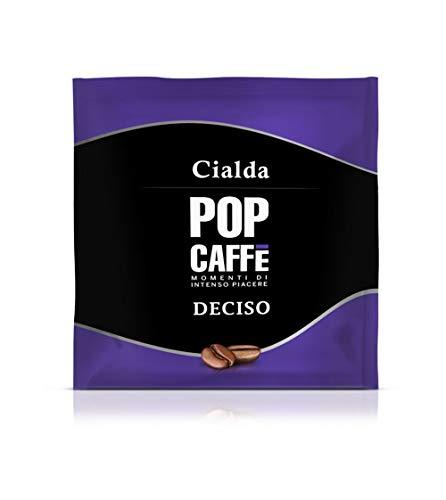 150 Cialde Filtro Carta Ese 44mm POP CAFFE' Miscela DECISO
