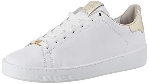 HÖGL Damen Essenza Sneaker, Mehrfarbig (Weiss/Platin 0275), 41.5 EU