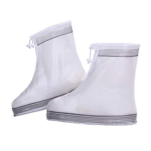Yongqin 6 Paquetes De Funda Impermeable Para Zapatos, Material De Pvc, Unisex, Antideslizante, Fácil De Llevar, Reutilizable, Resistente Al Desgaste, Para Ciclismo Al Aire Libre, Montañismo