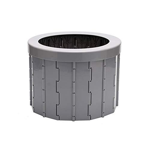 Cushion Inodoro Portátil Plegable para Acampar Al Aire Libre con 12 Bolsas De Limpieza, Inodoro Ligero para Automóvil, Atasco De Tráfico De Viajes De Larga Distancia