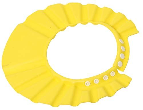 N-K -3 Farbe Baby Kinder Kind Einstellbar Weiche Eva Shampoo/Bad/Dusche/Waschen Haar Wasserdicht Augenschutz Hut Gelb Nettes Design