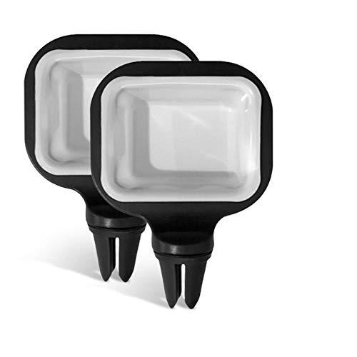 Auto Soßenhalter Saucem Clip, 2 Stück Ragbarer Soßenbecherhalter Im Auto Soßenschale Für Ketchup-Dip-Saucen Müsli, Salat, Dessert, EIS