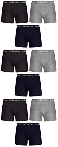 Kappa Herren Unterhose Boxershorts Schwarz Mischung aus Farben M L XL XXL 3 | 6 | 9 Packs - Männer-Unterwäsche (9, XXL)