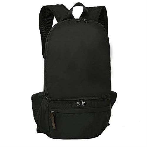 Generic Brands Sac à dos léger et imperméable pour camping, escalade, ski, randonnée noir