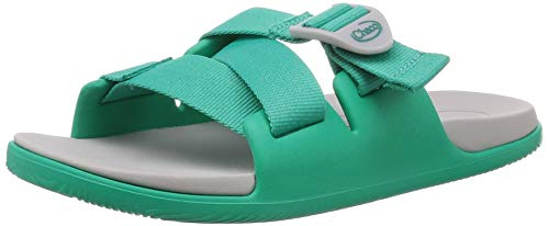 Chaco Women's Chillos Sandal, Teal, 7