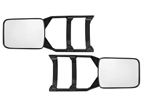 LAS 11010 Caravan-Spiegel-Set links und rechts, Black