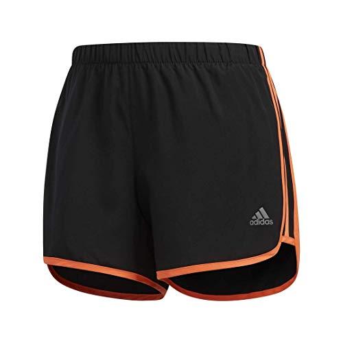 adidas Women's M20 Short, Black/Hi-Res Coral, Medium