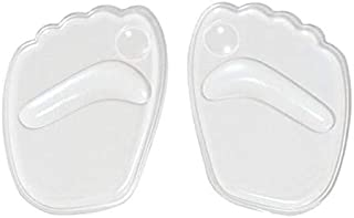 Silicone Gel Forefoot Insole Shoes Pads High Heel Soft Insole Anti-Slip Foot Protection Foot Cushions