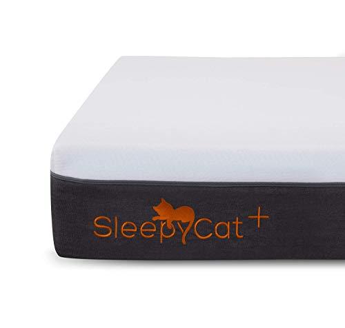 SleepyCat Plus Orthopedic Gel Memory Foam King Size Mattress (78x72x8 inches)