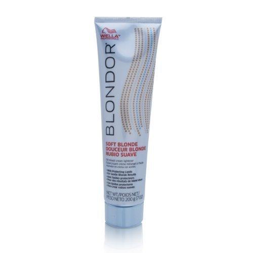 Wella Blondor Soft Blonde Cream Lighter Hair Dye, 7 Ounce by Wella