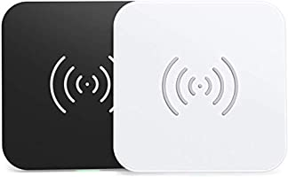 CHOETECH Wireless Charger, [2 Pack] 10W Max Qi-Certified Fast Wireless Charging Pad Compatible with iPhone 12/12...