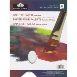 Royal & Langnickel Bulk Buy Royal Brush Essentials Artist Paper Pads Palette 100 Sheets RD35-8 (3-Pack)