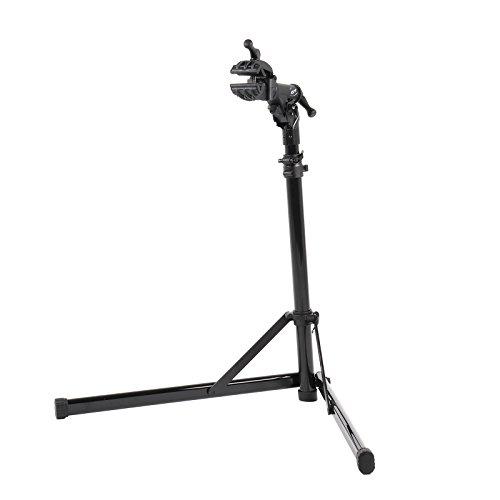 CONTEC Fahrrad Montageständer eBike Rock Steady, Traglast: ca. 30 kg, Klemme 360° rotierbar, (H/B/T) ca. 100x104x82 cm (Aufgebaut)