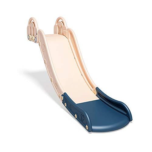 Z-Color Infantil Cubierta Inicio Slide Slide Slide Cuna Sofá Cama Juguete del Cabrito Largo de un pequeño Columpio Simple Adecuado for Niños 3-6 Años de Edad, 160 * 40 * 45cm (Color : Pink)