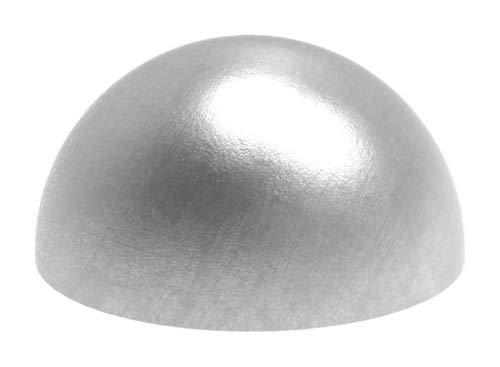 Halbhohlkugel ø 60,3mm, ungeschliffen, Wandstärke 2,0mm