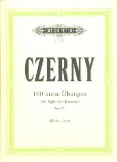 160 KURZE UEBUNGEN OP 821 - arrangiert für Klavier [Noten / Sheetmusic] Komponist: CZERNY CARL