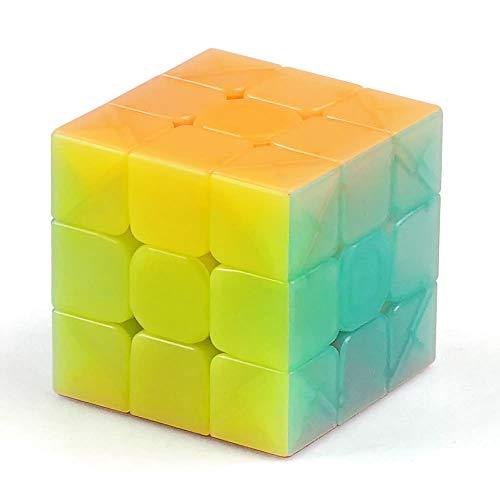 OJIN Rompecabezas mágico del Cubo mágico de la Velocidad sin Etiqueta engomada (Warrior W 3x3)