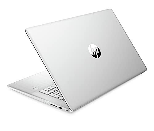 HP 17-cn0000sf PC Portable 17.3' HD+ Argent (Intel Core i3, RAM 4 Go, SSD 512 Go, AZERTY, Windows 10)