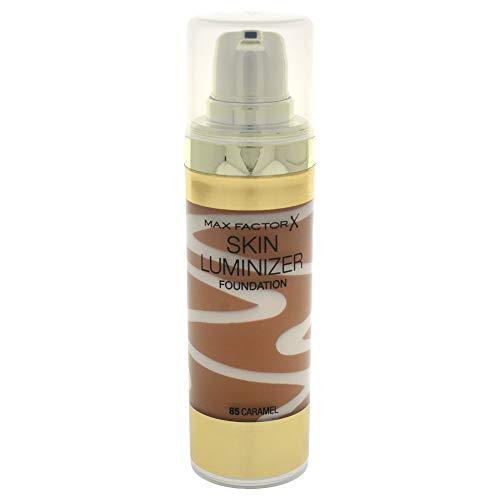 Max Factor Skin Luminizer Base de Maquillaje Líquida Tono 85 Caramel - 62 gr