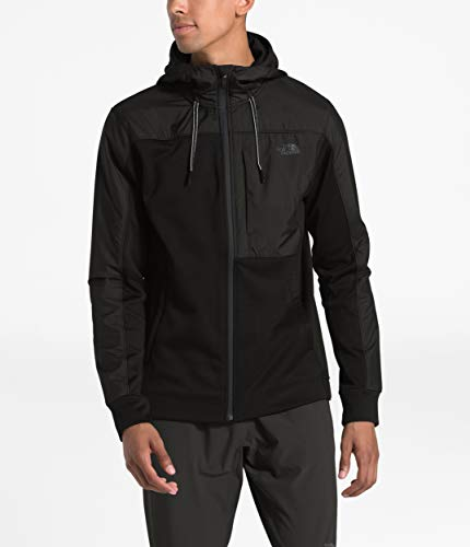 The North Face Men's Essential Fleece Full Zip Hoodie, TNF Black, XL