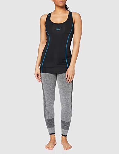 Gregster - T-shirt de compression pour femmes / Top de course à pied - Convient pour le Fitness, le Yoga, le Zumba et le running - Stretch et respirant - Rose (Fuchsia) - XS