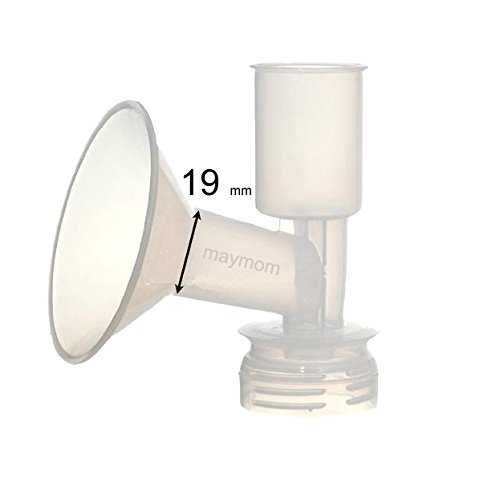 Amazing Deal Maymom Breast Shield Flange for Ameda Breast Pumps (19 mm, 1-Piece)