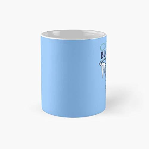 Taza clásica de sangre fría para jugador de baloncesto | El mejor regalo divertidas tazas de café de 11 oz