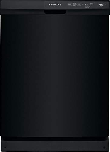 Frigidaire FFCD2413U 24 Inch Built In Dishwasher with 3 Wash Cycles, 14 Place Settings, Hard Food Disposer, Quick Wash (Black Stainless Steel)