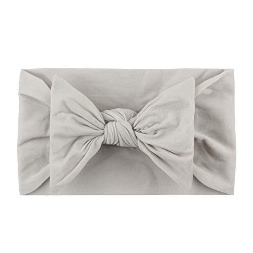 Hairband Soft Bowknot Accessoires pour enfants La princesse mignonne peut être utilisée pour la décoration extérieure (5pcs)