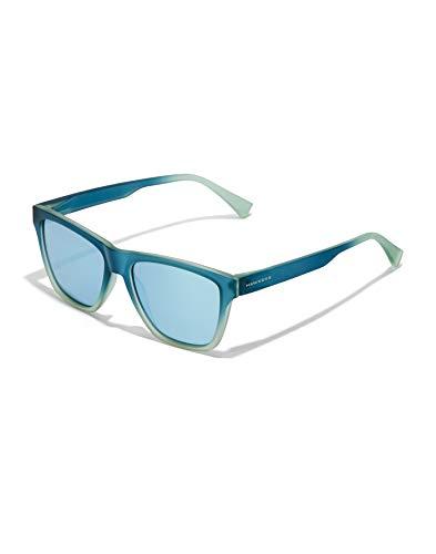 HAWKERS LS Sunglasses, Azul Claro Espejo, One Size Unisex Adulto