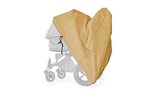 softgarage buggy softcush beige Abdeckung für Kinderwagen Adbor Ottis Ultimo Regenschutz Regenverdeck