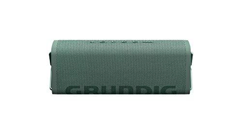Grundig GBT Club Grass - Bluetooth Lautsprecher, 20 Meter Reichweite, mehr als 20 Std. Spielzeit