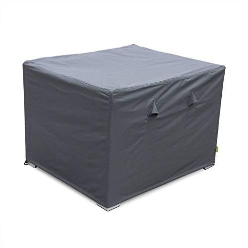 Housse de Protection Gris foncé pour fauteuils de Jardin Genova et Brescia - Bâche Toile Oxford en Polyester Enduit PA