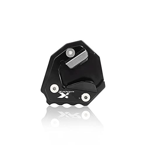 para S1000XR S 1000XR S1000 XR 2020-2022 Placa De Soporte De La Motocicleta Placa De Soporte Lado De Pie Ampliar Cojín De Extensión Motocicleta (Color : Black)