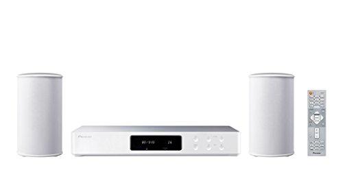 Pioneer 2.1 Wireless Musikanlage (inkl. Lautsprecher und Subwoofer), FS-W40-W, für Musik und Heimkino Streaming (Spotify, Deezer, Internetradio), UltraHD, Bluetooth, WLAN, USB, UKW Radio, weiss