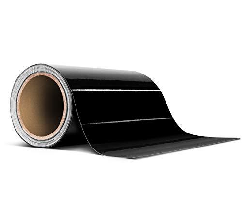 VViViD Black Gloss Air-Release Adhesive Vinyl Tape Roll (4 Inch x 20ft)