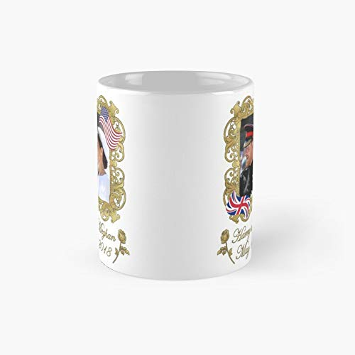 Prince Harrry And Megghan Markle Royal Wedding Classic Mug
