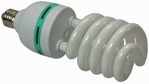 Replacement 60 Watt CFL Daylight Balanced Bulb 5500K Color Temperature for Photography Video Studio Softbox Lighting