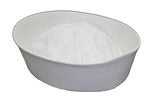 Genuine Issue GI White Military US Navy Cotton GOB Sailor Hat - http://coolthings.us