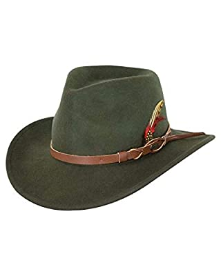 This Dorfman Pacific safari hat is made of 100% cotton with leather trim  and provides 50+ UPF sun protection. This hat may run larger than your  usual hat ... 8be355a8bb60