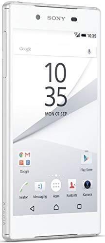 Sony Xperia Z5 Dual SIM Smartphone (13,2 cm (5,2 Zoll) Display, 32GB Speicher, Android 6.0) Weiß (Generalüberholt)