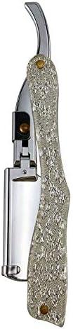 LLZJ Professional Indianapolis Mall Manual Shaver Topics on TV Straight Edge Sharp Metal Barber