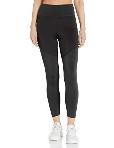 adidas Women's Designed 2 Move High Rise 7/8 Tight Black/Black Small