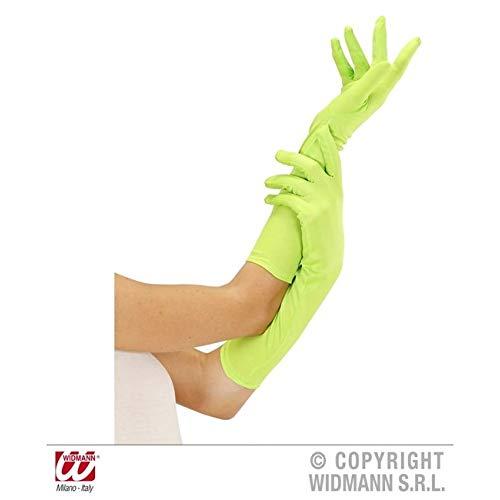 Handschuhe lang glänzend
