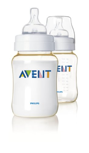 Philips AVENT - SCF663/27 - Lot de 2 Biberons sans Bisphenol A - 260 ml