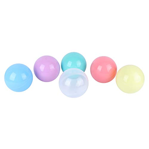 VALICLUD 6 Pzas 10CM Máquina Expendedora Cápsulas Bola de Plástico Rellenable Bola de Caramelo Bola de Huevo Retorcida Huevo Sorpresa de Pascua para La Decoración de La Fiesta de
